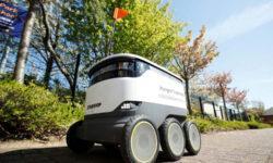 Starship удвоил в английском городе на карантине парк автономных роботов для доставки продуктов