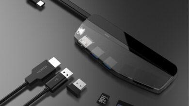 Фото Устройство HybridDrive совместило карманный SSD и док-станцию