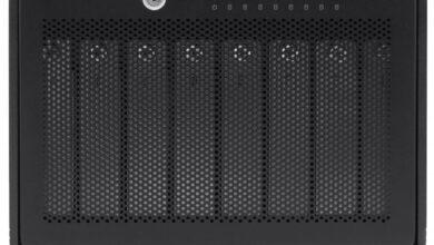 Фото Внешнее хранилище OWC ThunderBay 8 с портом Thunderbolt 3 вмещает до 128 Тбайт