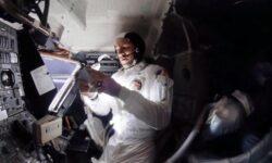 Вторая жизнь фотографий с борта аварийного «Аполлона-13»