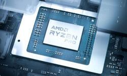 AMD представила процессоры Ryzen Pro 4000 для тонких бизнес-ноутбуков