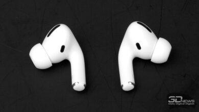 Фото Будущие наушники Apple AirPods могут получить датчики освещённости