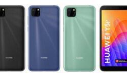 Доступные смартфоны Huawei Y5p и Y6p на чипе Helio P22 позируют во всей красе