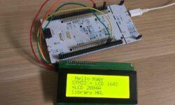 Дружим STM32 с LCD дисплеем 1604 по I2C шине (библиотека HAL)