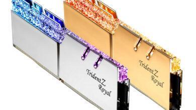 Фото G.Skill готовит комплекты памяти DDR4 с частотой до 5000 МГц для чипов Intel Comet Lake