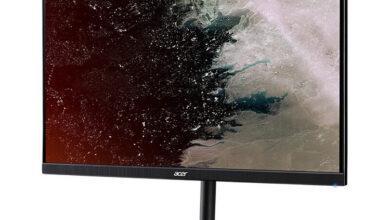 Фото Игровой монитор Acer XV272XU предлагает частоту 165-Гц и поддержку FreeSync и G-Sync