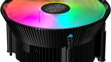 Фото Компактный охладитель Cooler Master A71C для AMD Ryzen оснащён120-мм вентилятором