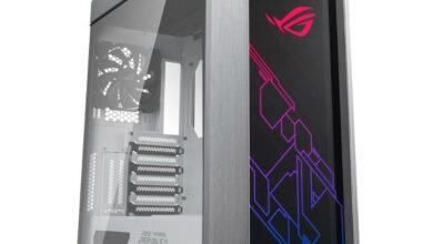 Фото Корпус ASUS ROG Strix Helios White Edition поможет создать эффектный игровой ПК
