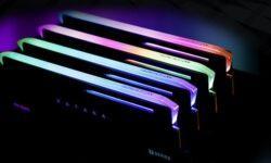 Модули памяти Antec Katana DDR4 получили необычный дизайн с ARGB-подсветкой