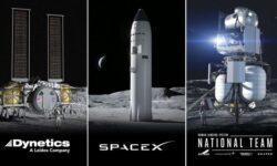 NASA выбрало компании, которые продолжат создание пилотируемых систем для высадки на Луну