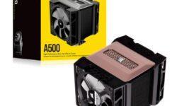 Новая статья: Обзор процессорного кулера Corsair A500: первый… после пандемии