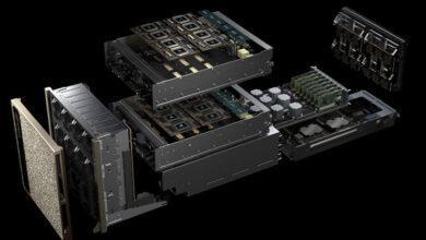 Фото NVIDIA DGX A100 — возможный носитель нескольких графических процессоров Ampere