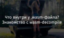 [Перевод] Что внутри у .wasm-файла? Знакомство с wasm-decompile