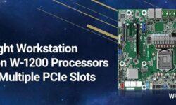 Плата ASRock Rack W480D4U для рабочих станций имеет формат Micro-ATX