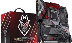 Плата GIGABYTE Z490 Aorus Ultra G2 предназначена для мощных игровых станций