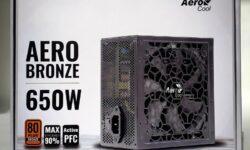 Пользовательское тестирование: AeroCool AERO BRONZE 650W