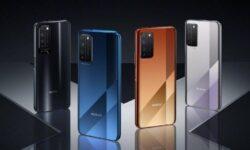 Представлен недорогой 5G-смартфон Honor X10 5G с большим экраном и камерой-перископом