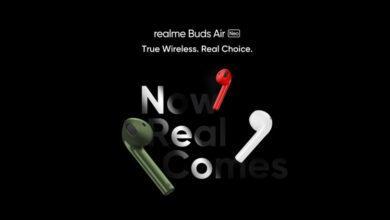 Фото Realme представит доступные беспроводные наушники-вкладыши Buds Air Neo 25 мая