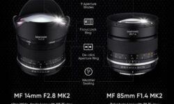 Samyang обновила свои популярные объективы 14 мм f/2,8 и 85 мм f/1,4