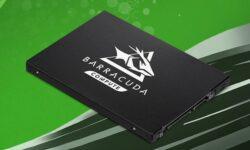 Seagate представила SSD-накопителиBarraCuda Q1 вместимостью 480 и 960 Гбайт
