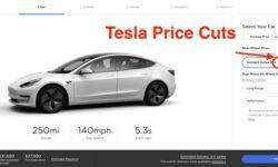 Tesla снизила цены почти на все электромобили, стоимость Model 3 теперь начинается с $37 990