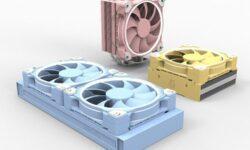 В пастельных тонах: вентилятор ID-Cooling ZF-12025 вышел в оригинальных исполнениях