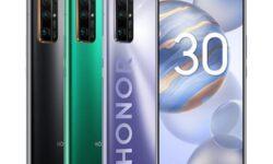 В России официально представлены смартфоны Honor 30 и Honor 30S