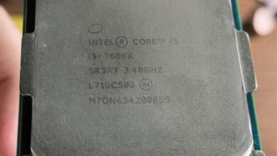 Фото Intel Core i5-7660X оказался редким процессором Skylake-X с частотой 5 ГГц