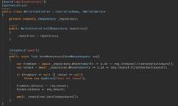 А почему мы не пишем код в контролерах?