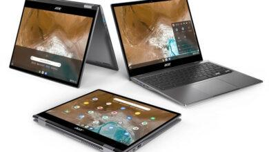 Фото Acer представила флагманский Chromebook Enterprise Spin 713 стоимостью 899 евро