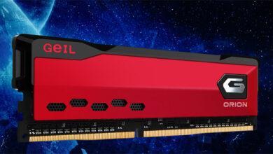 Фото Частота памяти GeIL Orion DDR4 достигает 4000 МГц