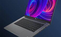 Экран лэптопа Xiaomi Mi Notebook 14 Horizon Edition занимает более 90 % площади крышки