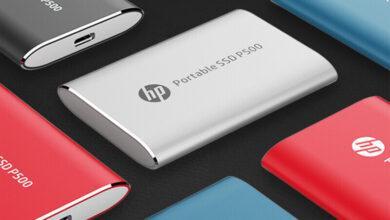 Фото HP выпустила карманный накопитель Portable SSD P500 ёмкостью 1 Тбайт