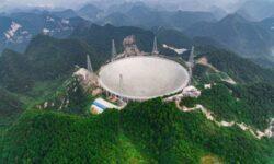 Китай займётся поиском внеземной жизни с помощью гигантского радиотелескопа FAST