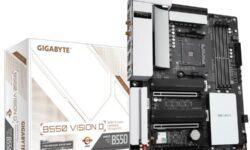 Материнская плата Gigabyte B550 Vision D для Ryzen 3000 поддерживает Thunderbolt 3