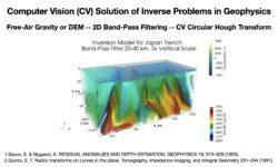 Методы компьютерного зрения для решения обратной задачи геофизики