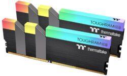 Новые комплекты DDR4-памяти Thermaltake Toughram RGB имеют ёмкость до 64 Гбайт