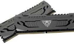 Patriot представила комплекты Viper Steel из 32-Гбайт модулей памяти DDR4
