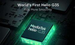 Realme C11 станет первым в мире смартфоном на платформе MediaTek Helio G35