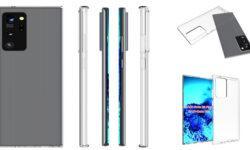 Рендеры чехлов для Samsung Galaxy Note 20 + раскрывают подробности о дизайне устройства
