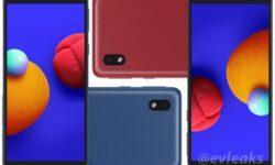 Рендеры и характеристики бюджетного смартфона Samsung Galaxy A01 Core попали в Интернет