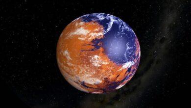 Фото Самые необычные природные явления на Марсе
