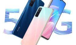 Смартфон Huawei Enjoy 20 Plus выйдет с процессором Dimensity 800 на борту