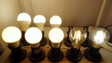 Фото Тест старения светодиодных ламп