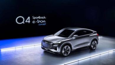 Фото Audi показала концепт электрического кроссовера Q4 Sportsback e-tron стоимостью $45 000
