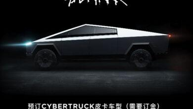 Фото Китайцы теперь тоже могут оформить предварительный заказ на пикап Tesla Cybertruck