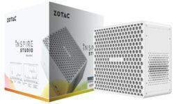Компактный компьютер Zotac Inspire Studio SCF72060S снабжён видеокартой GeForce RTX 2060 Super