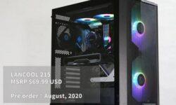 Корпус Lian Li Lancool 215 для игровой системы обойдётся в $70