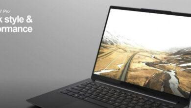 Фото Lenovo готовит серию тонких ноутбуков Slim 7 на базе Intel Tiger Lake иGeForce MX450
