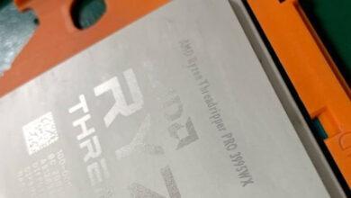 Фото Lenovo намекает на скорый выход процессоров Ryzen Threadripper PRO и систем на их основе